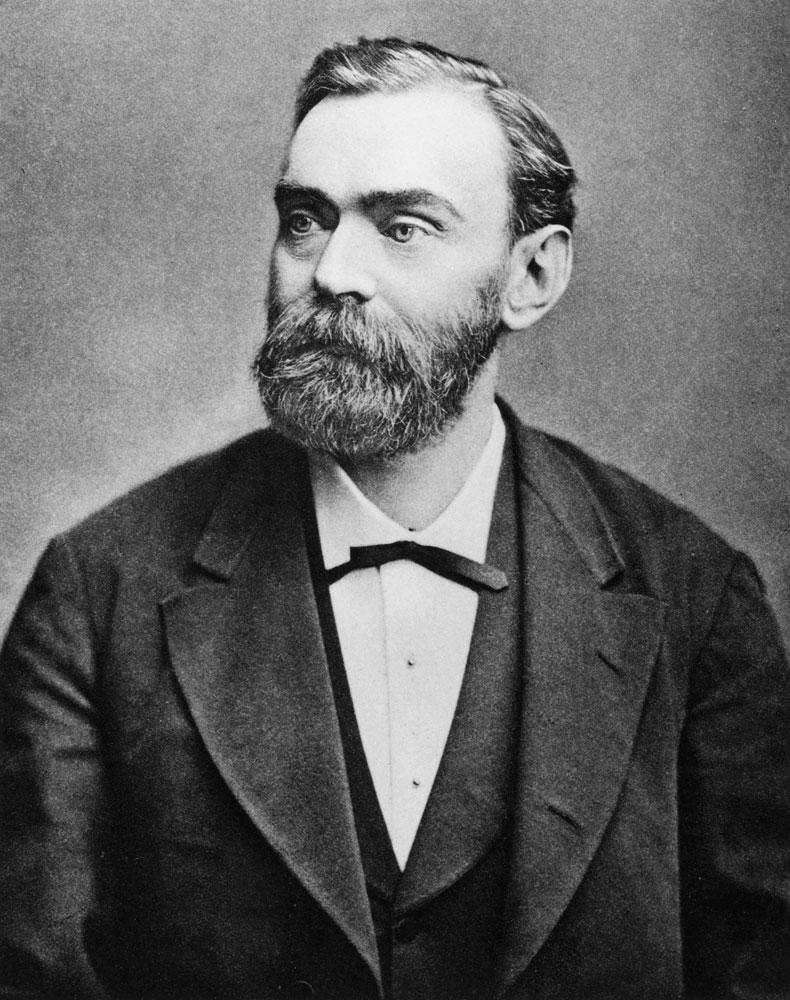 Portrait Alfred Nobel