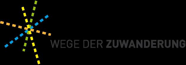 Wege der Zuwanderung Logo