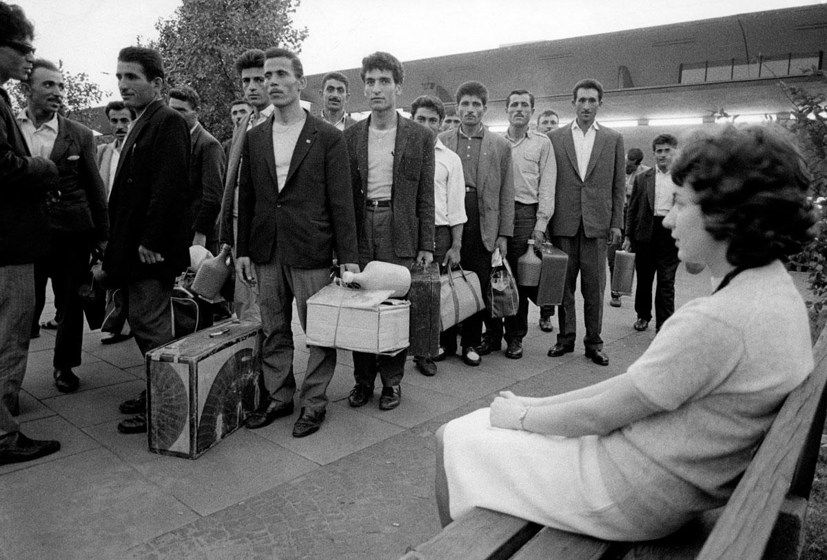 Ankunft in Dortmund 1965